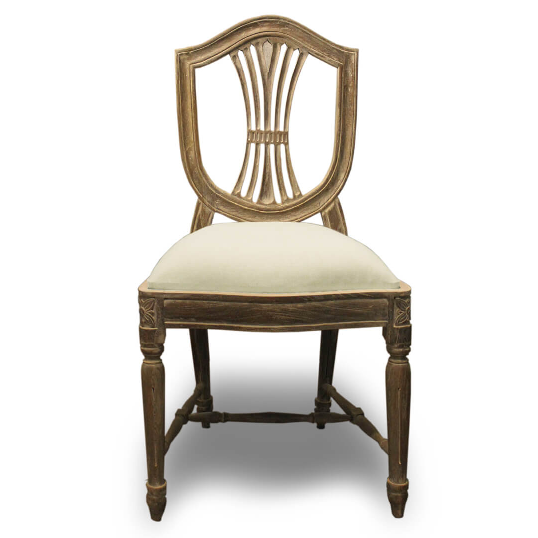 antique dining chair