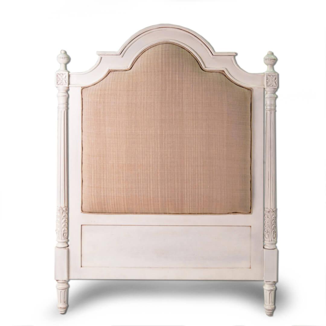 Antique Upholstered Headboard