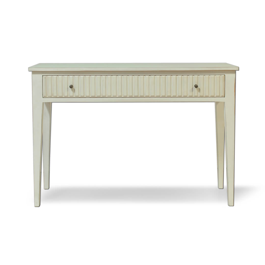 Ribbed Console Table