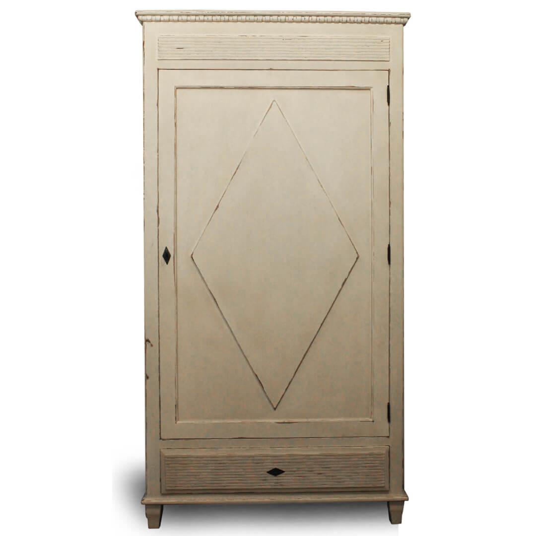 antique gustavian armoire