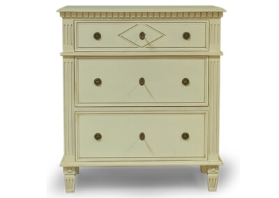 3 Drawer Diamond Commode