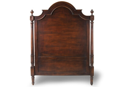 Antique Carved Mahogany Headboards