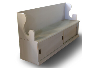 Classic Bench With Storage