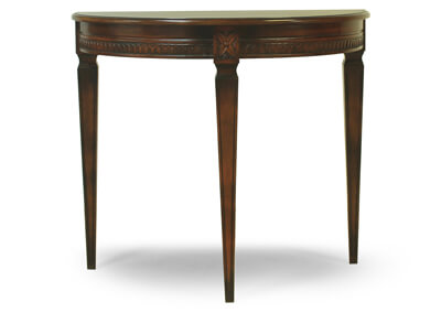 Demi Lune Half Round Table