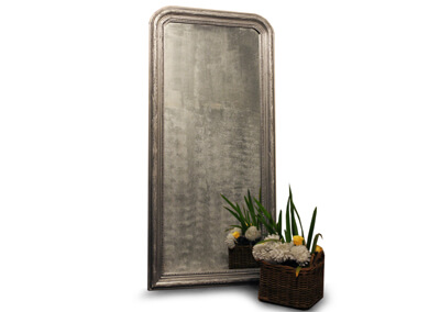 Louis Phillipe Floor Mirror