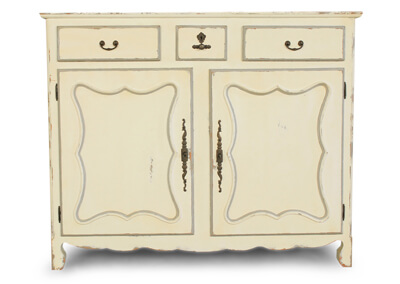 Painted French Cabinet