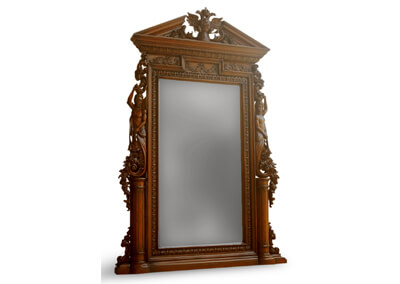 Heavy Carving Decorative Mirror