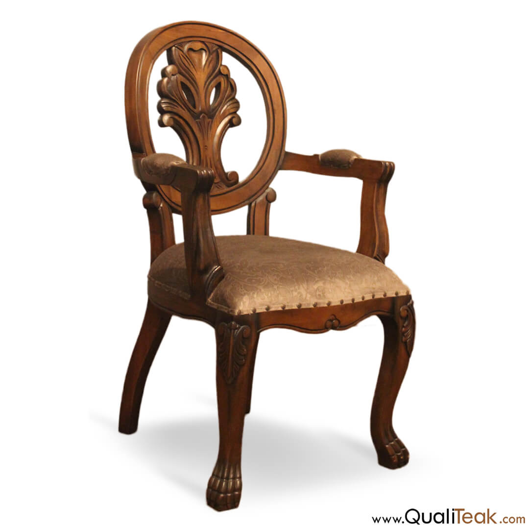 Antique Dining Arm Chair
