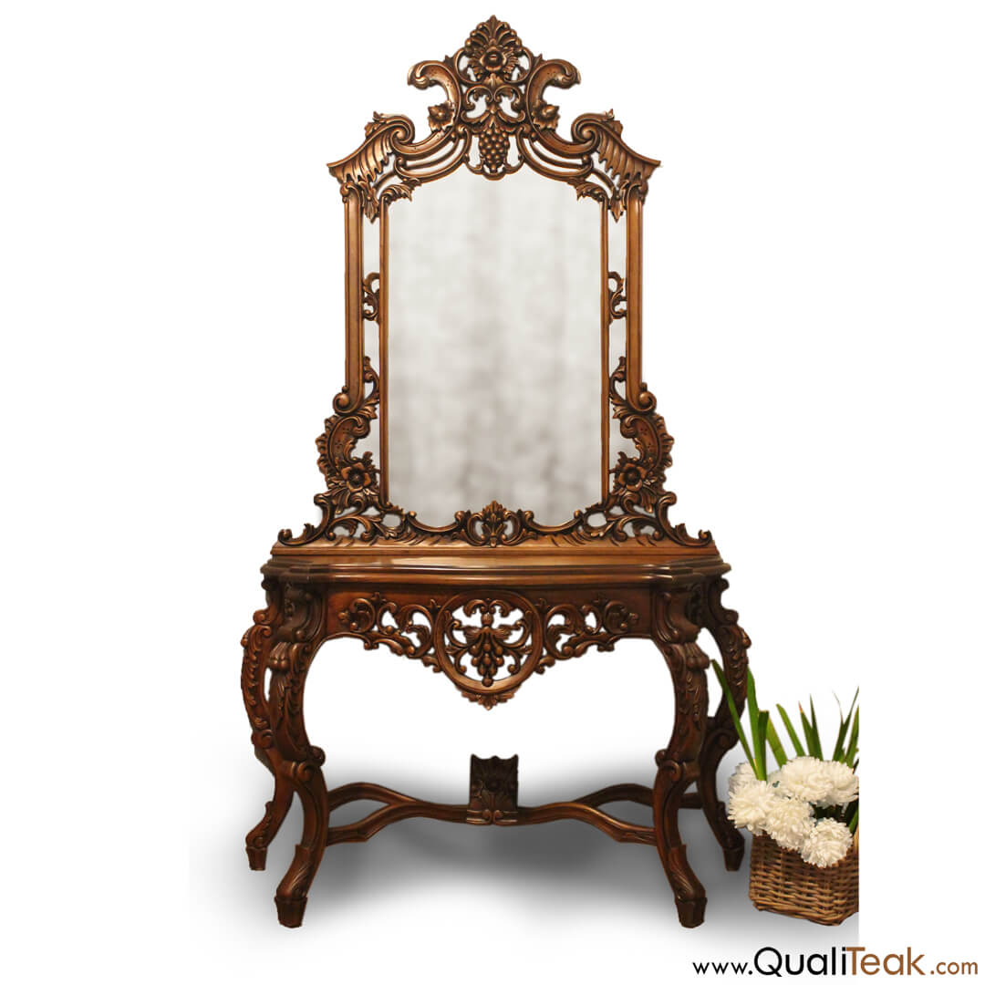 Rosaline Antique Dressing Table