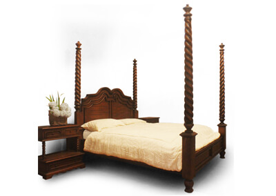 Espania Classic Poster Bed