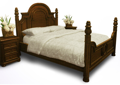 Jena Classic Poster Bed