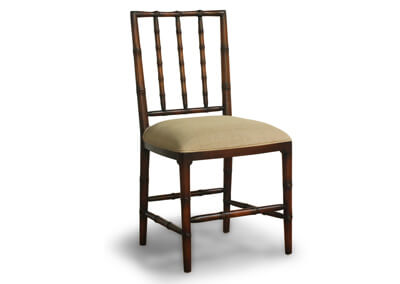 Antique Bamboo Style Gustavian Dining Chair