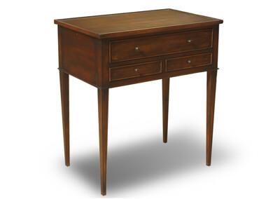 Antique Gustavian Side Table 3 Drawer