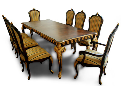 Antique Victorian Dining Table Sets