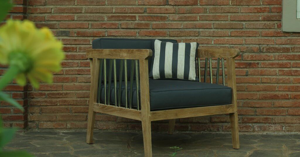 Custom made outdoor furniture design