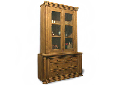 Antique Gustavian Display Cabinets