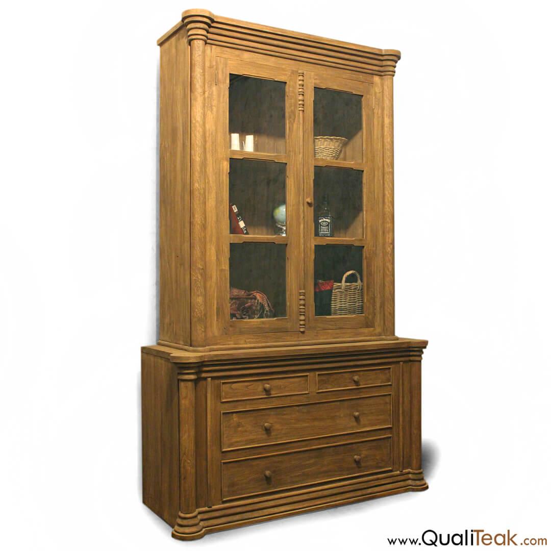 gustavian display cabinets