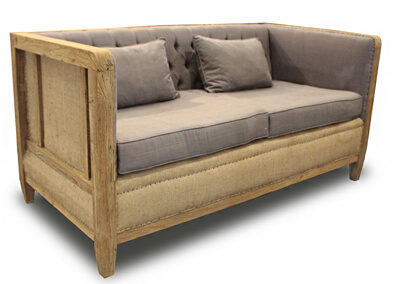 Double Seater Deconstructed Sofa