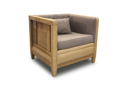 Single Seater Deconstructed Sofa