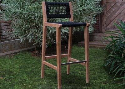 Teak Bar Chair Teluk