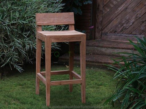 Teak Reclaimed Bar Chair Moha