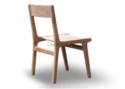 Tempur Teak Outdoor Dining Chair